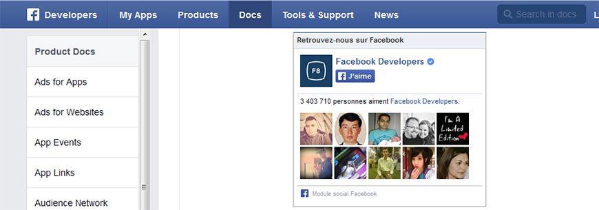Ajouter une facebook fan box à son site Drupal 7