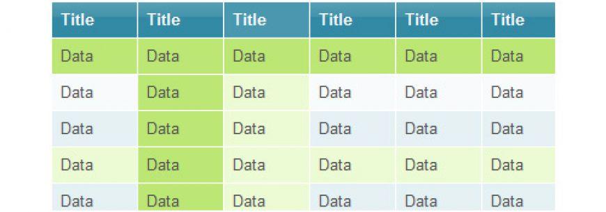 Tablefield, champ cck pour les données tabulaires